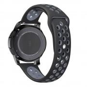 TECH-PROTECT Řemínek pro Samsung Galaxy Watch 46mm - Tech-Protect, Softband Black/Gray