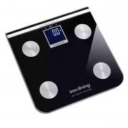 Cantar digital cu analizator Innofit INN-117, 150 kg, Negru
