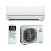 Mitsubishi Split Pared 1x1 - Serie DM - 2500W/2800W-Bomba Calor Inverter