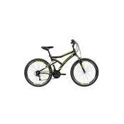 Bicicleta MTB Caloi Andes Aro 26 com 21 Marchas - Preta