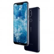 "Smartphone, NOKIA 8.1 TA-1119, DualSIM, 6.18"", Arm Octa (2.2G), 4GB RAM, 64GB Storage, Android, Blue"