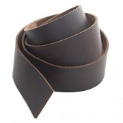 Realeather Crafts Tira de Piel, 1.5 por 1.2 Pulgadas, Marrón, Brown, 1