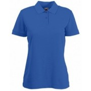 Tricou polo FRUIT OF THE LOOM Lady Blue