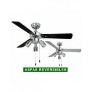 AireRyder Ventilador De Techo Con Luz Aireryder Fn44444 Cyrus Negro O Plateado/cromado