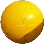 Ganesh Sky Balloon 10 x 10 feet Yellow Big Advertising PVC Sky Balloon