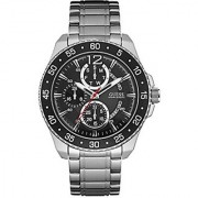 Guess Jet Mens Quartz Watch 46 mm Strap and Steel Case w0797g2