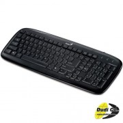 Genius slimstar 110 ps/2 black tastatura
