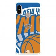 Unique Be Unique Funda Gel NBA New York Knicks para Xiaomi Mi A2 Lite/Redmi 6 Pro