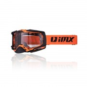 Imx Motokrosové Brýle Imx Dust Graphic Orange-Black Matt