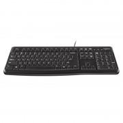 Tastatura cu fir K120 Logitech, conectare USB