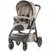 Детска комбинирана количка Аура 3 в 1, Chipolino, фрапе лен меланж, 3500034