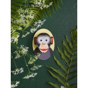 Little Friends, Monkey - Wall Decoration