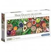 Puzzle 1000 Piezas Frutas Verduras Panoramico - Clementoni