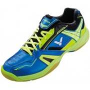 Victor Sh - A320 / L FG Badminton Shoes For Men(Blue, Green)