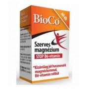 BioCo Szerves Mg stop B6-vitamin tabl. 60 db