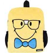 Smiley World Nerd Face Soft Toy School Bag 14 Inch Yellow by Ultra