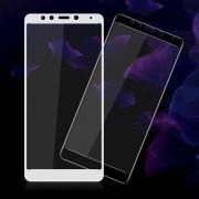 IMAK előlap védő karcálló edzett üveg - FEHÉR - 9H - Xiaomi Redmi 5 - A TELJES KIJELZÕT VÉDI! - GYÁRI