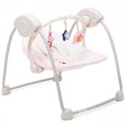 Бебешка електрическа люлка - Baby Swing, Cangaroo, розова, 356026
