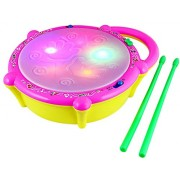 Bonkerz Musical Flash Drum With Lights And Music