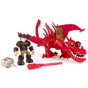 DreamWorks Dragons, Dragon Riders,Snotlout & Hookfang Figures