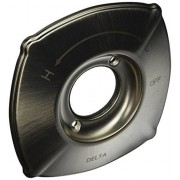 DELTA FAUCET RP71017SS 14 Series Celice Escutcheon, Stainless