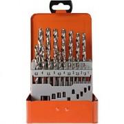 Projahn Spiraalborenset Projahn BASIC, 19 korte spiraalboren, in metalen koffer
