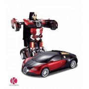 Jojoss Converting Car to Robot Transformer with Remot Controller for Kids