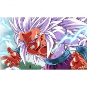 goku super saiyan 5 sticker poster|dragon ball z poster|anime poster|size:12x18 inch|multicolor