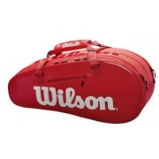 WILSON Super Tour Small 2 Fack Röd