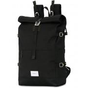 Sandqvist Bernt Cordura Eco Made Roll Top Backpack Black