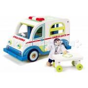 LeToyVan Деревянная игрушка LeToyVan Игровой набор Скорая помощь с доктором