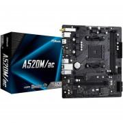 Tarjeta Madre ASROCK A520M/AC Socket AM4 DDR4 Micro ATX