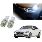 Auto Addict Car T10 5 SMD Headlight LED Bulb for Headlights Parking Light Number Plate Light Indicator Light For Mercedes Benz C-Class