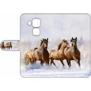 Exclusief Hoesje voor de Huawei Nova Plus met Paarden design