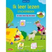 Ik leer lezen stickerboek: Ik leer lezen Stickerboek - In een tent bij de boer (AVI M3 / AVI 1) - Willemijn VAN ABEELEN