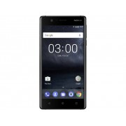 Nokia 3 Single-SIM LTE smartphone 12.7 cm (5 inch) 1.3 GHz Quad Core 16 GB 8 Mpix Android 7.0 Nougat Zwart