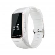 B7 Reloj Inteligente Monitor De Ritmo Cardíaco Fitness Deporte Blanco Pulsera Smartband Impermeable
