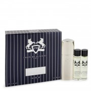 Layton Royal Essence by Parfums De Marly Three Eau De Parfum Sprays Travel Set 3 x .34 oz