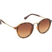 Arzonai Hayes MA-017-S4 Unisex Round Sunglasses