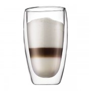 Bodum PAVINA® Set 2 bicchieri, doppia parete, 0.45 l Trasparente
