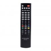 Telecomanda universala TV Konig, Negru