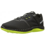 Reebok Men s Zprint Run Ex Running Shoe Black/Coal/Solar Yellow/White 8 D(M) US