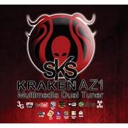 sks FTA DVBS-2 Kraken AZ1 Multimedia Dual Tuner