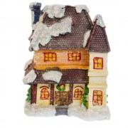 Casuta decorativa din ceramica cu zapada