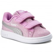 Puma Sneakers PUMA - Smash V2 Glitz Glam V 367380 02 Orchid/Puma Silver