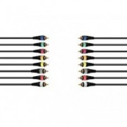 OMNITRONIC Snake cable 8xRCA/8xRCA 15m