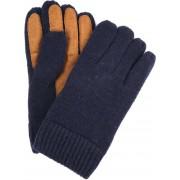 Profuomo Leder-Handschuh Dunkelblau - Dunkelblau 8.5