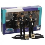 Set Figurine The Blues Brothers Jake And Elwood 7 Inch Movie Icons