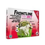 Tri-act para cães dos 40 aos 60kg 3pipetas (validade 04/2021) - Frontline