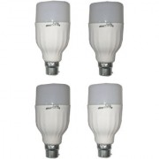LED Bulb (Pack of 4) Orbit 9 Watt White Bullet Series LED Bulb B22 Cap